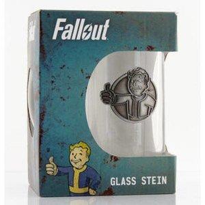 Fallout Vault Boy - Stein Glass