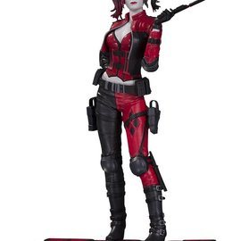 Diamond Direct DC Comics Injustice 2: Harley Quinn Red & White & Black 1:10 Statue