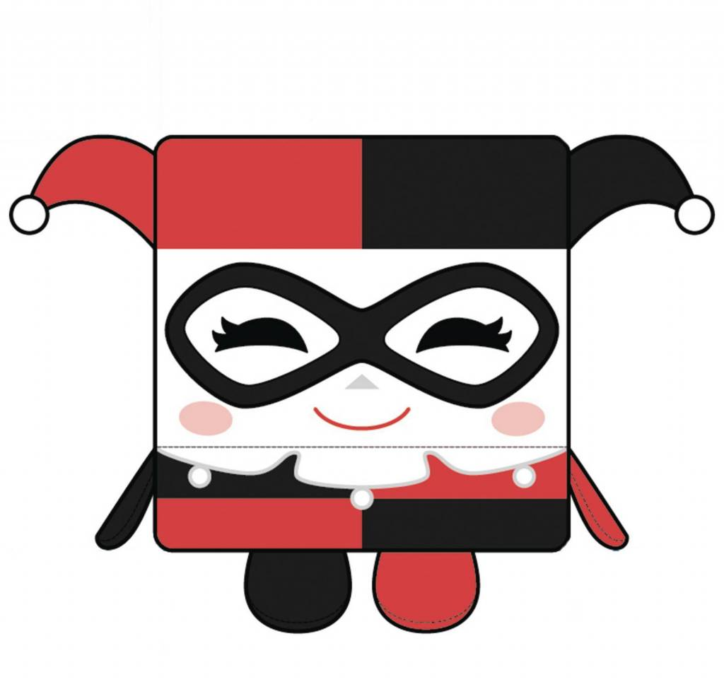 Kawaii Cube DC Comics: Harley Quinn Large Plush