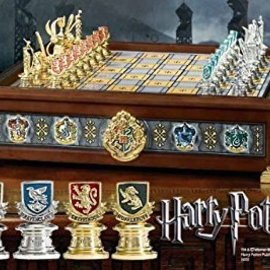 The Hogwarts Houses Quidditch Chess Set