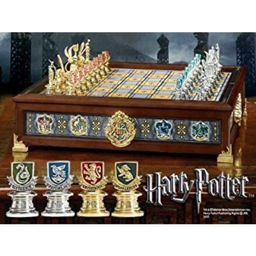 The Noble Collection The Hogwarts Houses Quidditch Chess Set