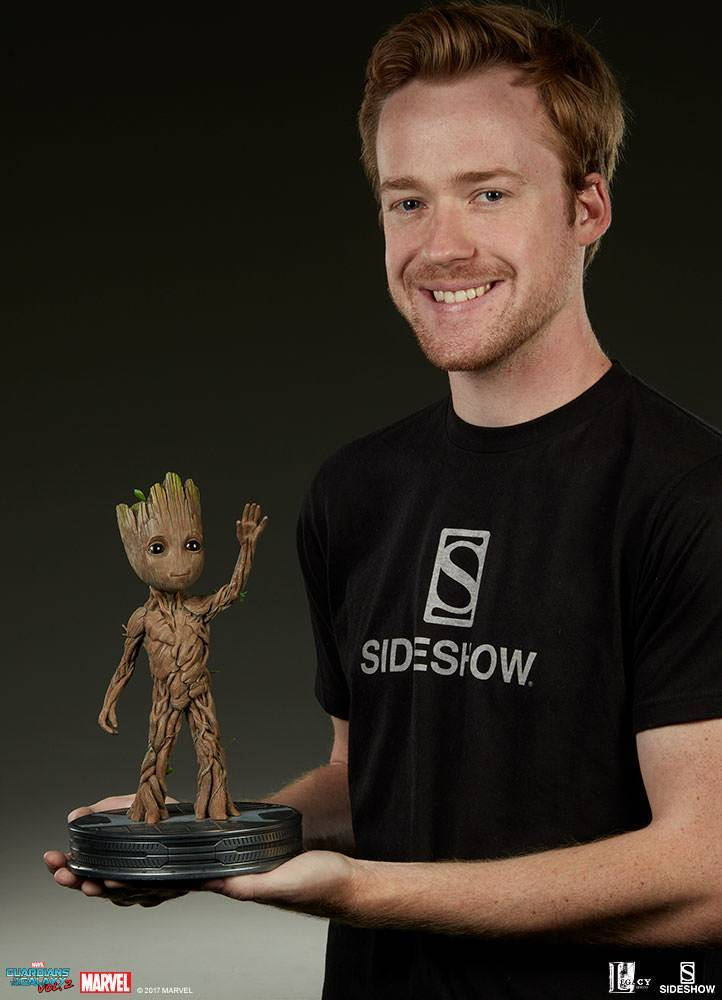 Baby Groot life sized maquette