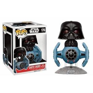 FUNKO Pop! Star Wars: Darth Vader with Tie Fighter LE