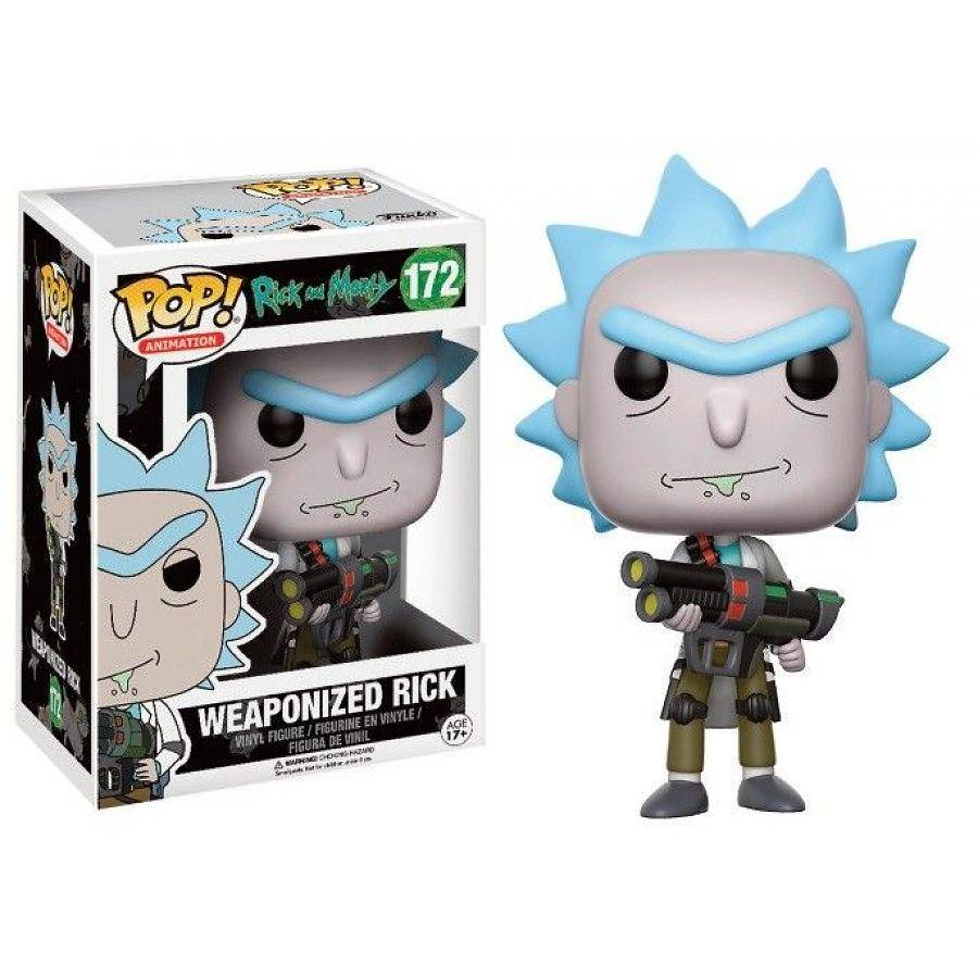 Funko Pop! Rick & Morty: Weaponised Rick