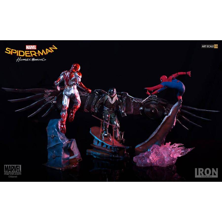 Spider-Man Homecoming 3 Piece Statue Set