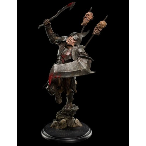 weta The Hobbit: Dol Guldur Orc Soldier 1:6 Scale Statue