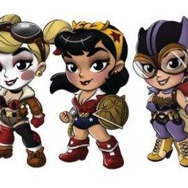 DC Comics: Lil Bombshells Series 2 - Sold per one tin