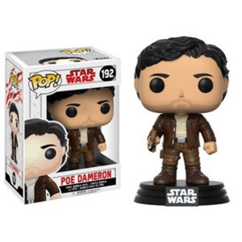 FUNKO Pop! Bobble: Star Wars: E8 TLJ: Poe Dameron