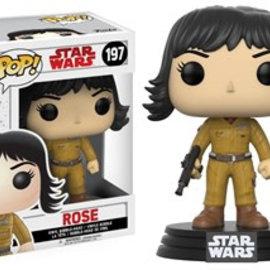 FUNKO Pop! Bobble: Star Wars: E8 TLJ: Rose