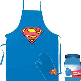 DC Comics: Superman Apron And Oven Glove