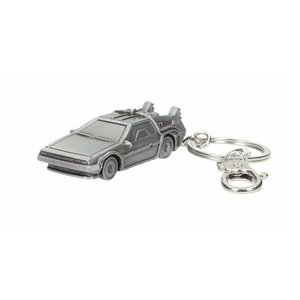 SD Toys Back To The Future: Delorean 3D Metal Keychain