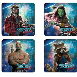 Guardians of the Galaxy 2: Guardians Hardboard Coaster Set