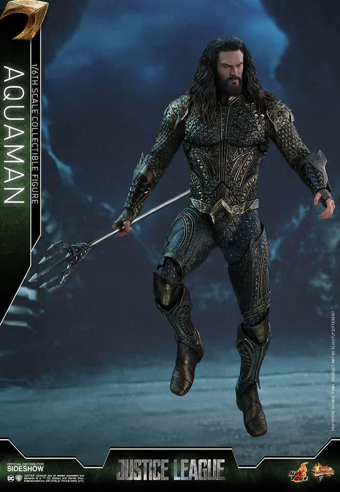 Hottoys Pre order-DC Comics: Justice League Movie - Aquaman 1:6 scale Figure