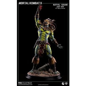 Pop Culture Shock Mortal Kombat X: Kotal Kahn - Sun God 1:4 Scale Statue