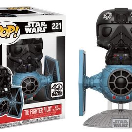 FUNKO Pop! Rides: Star Wars - Tie Fighter with Tie Pilot