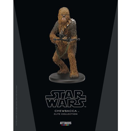 Attakus Star Wars: Chewbacca 22 cm Statue Limited Elite Collection