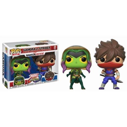 Pop! Marvel and Capcom: Gamora vs Strider 2-Pack