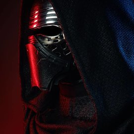 Sideshow Star Wars: The Last Jedi - Kylo Ren Life Sized Bust