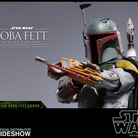 Hottoys Star Wars: The Empire Strikes Back - Deluxe Boba Fett 1:6 Scale Figure
