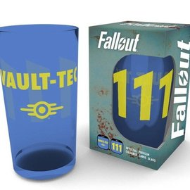 Hole In The Wall Fallout: Vault 111 Premium Large Coloured Glass