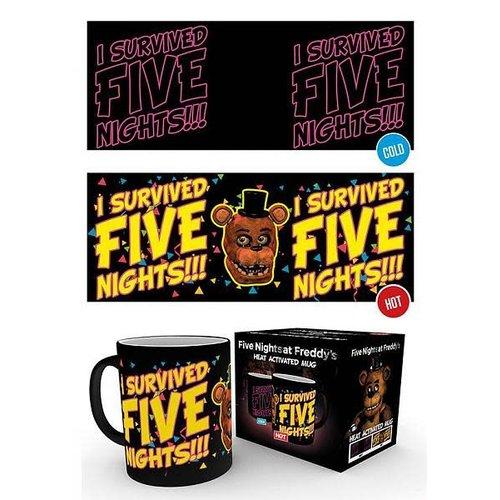 Five Nights At Freddy's - Heat Change Mug