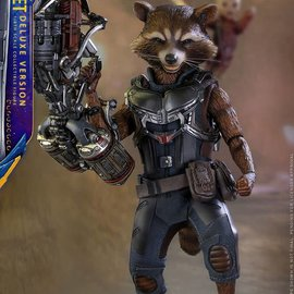 Hottoys Marvel: GotG 2 - Deluxe Rocket Raccoon 1:6 Scale Figure