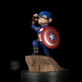 Quantum Mechanix Marvel: Civil War - Captain America Q-Fig