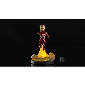 Quantum Mechanix Marvel: Iron Man Light-Up Q-Fig