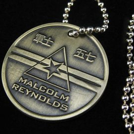 Quantum Mechanix Malcolm Reynolds Dog Tags