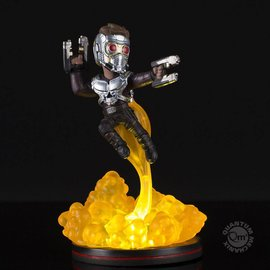 Quantum Mechanix Star Lord Light-Up Q-Fig FX Diorama