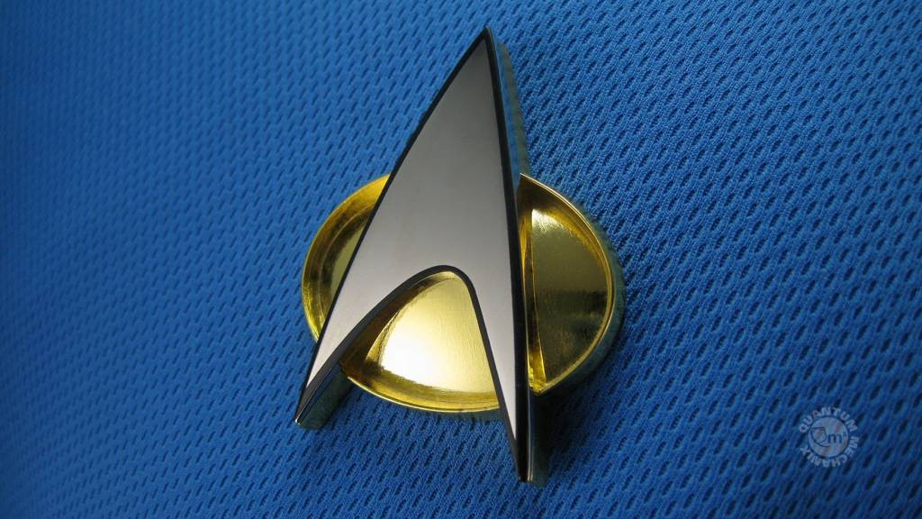 Quantum Mechanix Star Trek: The Next Generation Communicator Badge