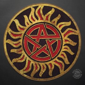 Quantum Mechanix Supernatural Anti-Possession Symbol Doormat