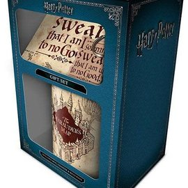 Hole In The Wall Harry Potter Marauders Map - Gift Set