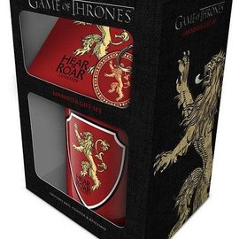Hole In The Wall Game of Thrones Lannister - Gift Set