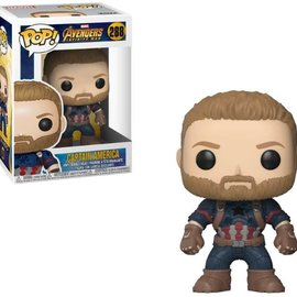 FUNKO Pop! Marvel: Avengers Infinity War - Captain America