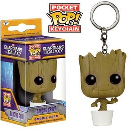 FUNKO Pocket Pop! Keychains: Guardians of the Galaxy - Dancing Groot