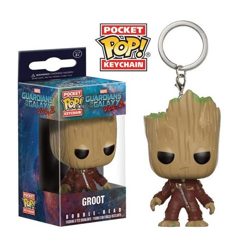 FUNKO Pocket Pop Keychains: Guardians of The Galaxy 2 - Groot
