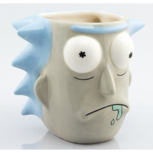 Hole In The Wall Rick and Morty Rick Sanchez - 3D Mug