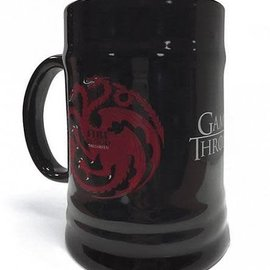 Hole In The Wall Game Of Thrones House Targaryen - Ceramic Stein