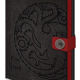 Hole In The Wall Game of Thrones Targaryen - Premium A5 Notebook