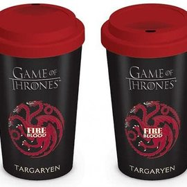 Hole In The Wall Game Of Thrones House Targaryen - Travel Mug