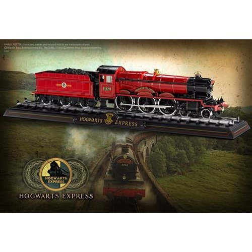 enesco Harry Potter: Hogwarts Express Die Cast Train Model and Base