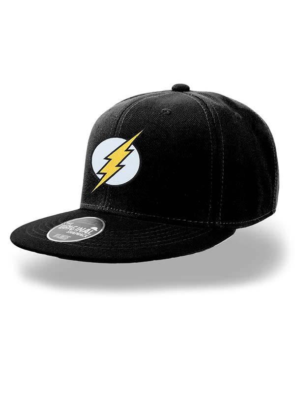 532eb486609 DC Comics  Flash Logo - Snapback - Fans