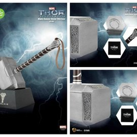 Beast Kingdom Thor 2: Mighty Hammer Mjolnir Life Sized Statue with Base