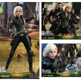 Hottoys Pre-Order : Marvel Avengers Infinity War - Black Widow 1:6 Scale Figure