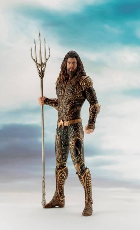 Kotobukiya DC Comics: Justice League Movie - Aquaman Artfx+ PVC Statue