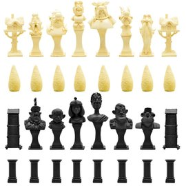 Plastoy Asterix: Resin Chess Set
