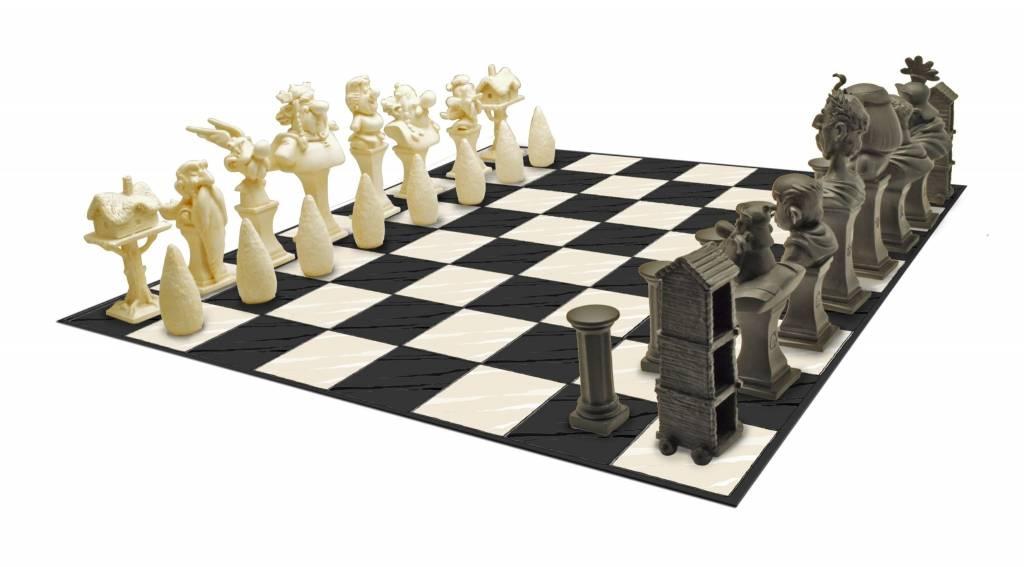 Plastoy Asterix: Resin Chess Set