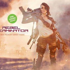 Sideshow Teminator: Rebel Terminator - Mythos Premium Format Statue