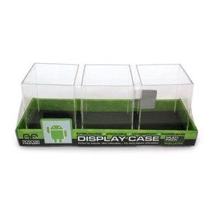 Mini Figure Square Black Display - 3 Pack